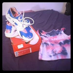 Nike air huaraches size 9